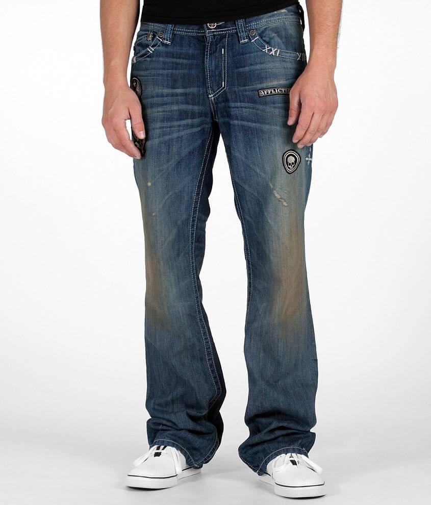 Affliction Blake Clash Jean front view