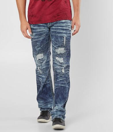 Affliction Black Premium Blake Fleur Stretch Jean