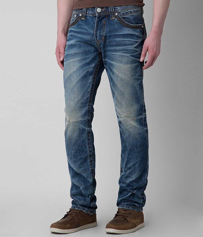 Affliction Black Premium Gage Jean front view