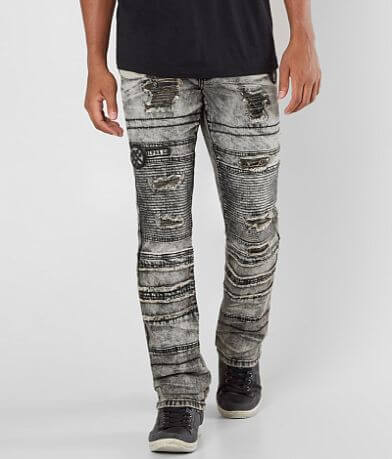 Affliction Black Premium Gage Fallen Stretch Jean