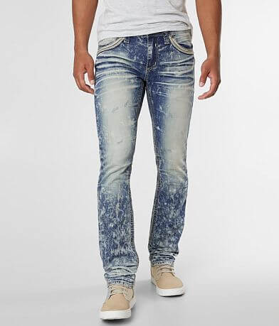 fb32bb71928 Affliction Gage Straight Stretch Jean