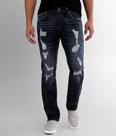 Affliction Gage Straight Stretch Jean