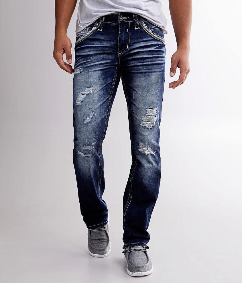 Slim fit jean Comfort stretch fabric Straight from knee to hem Low rise, 15\\\
