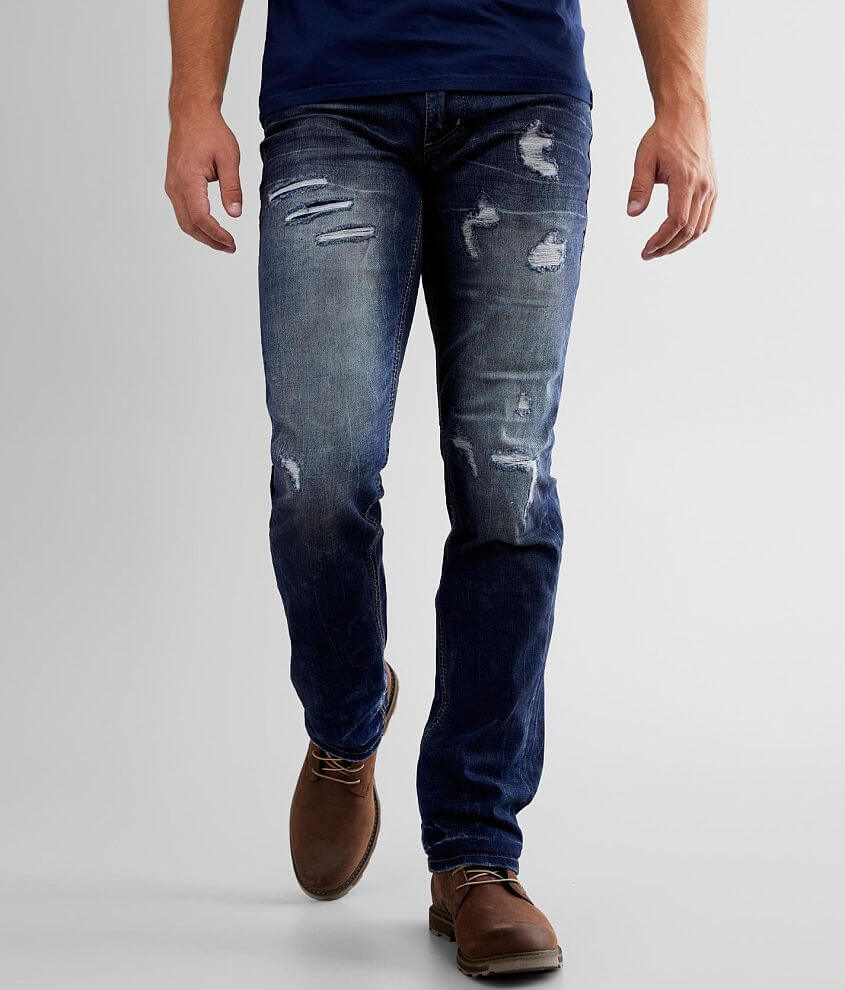 Affliction Gage Straight Stretch Jean front view