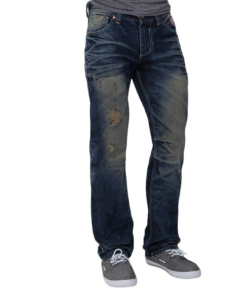 Limited Edition Affliction Ace Jean front view