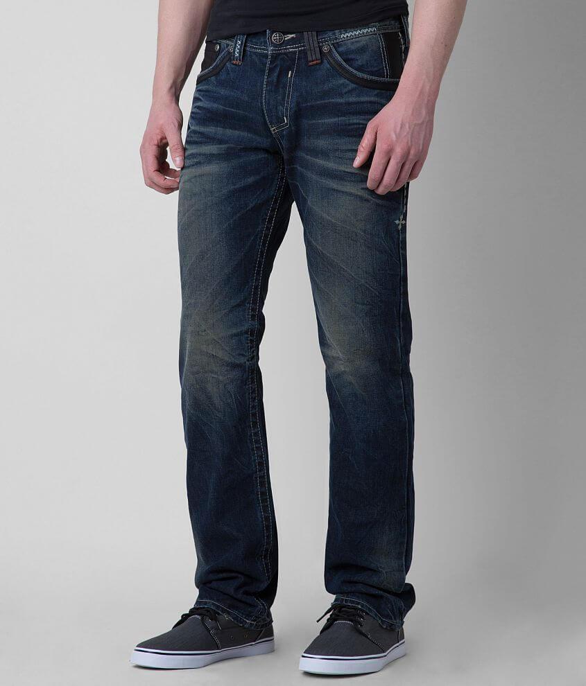 Affliction Black Premium Ace Jean front view