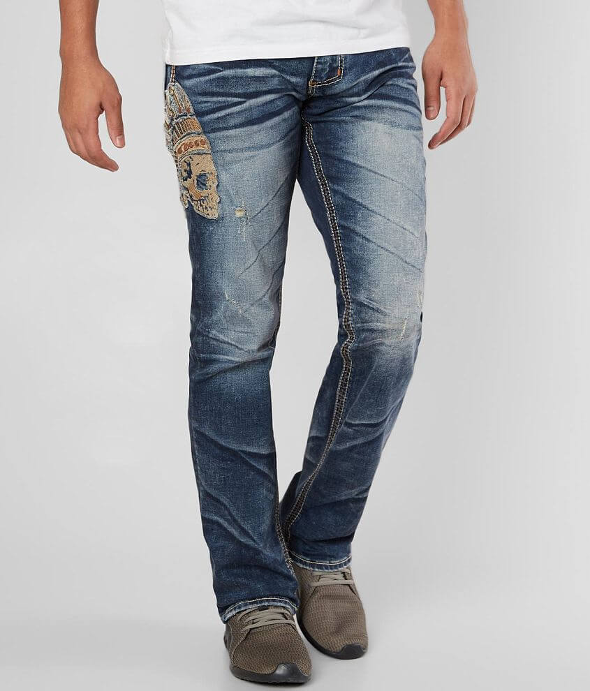 Slim fit jean Comfort stretch fabric Straight from knee to hem Low rise, 17\\\