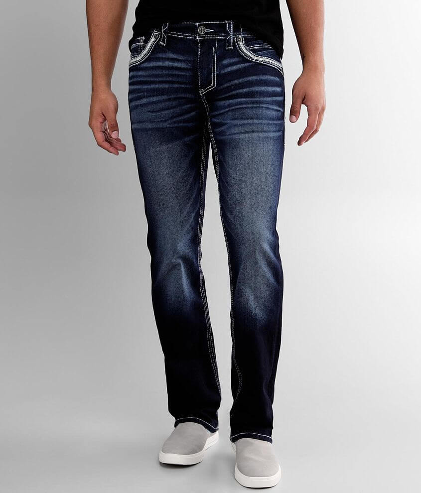 Affliction Ace Straight Stretch Jean front view
