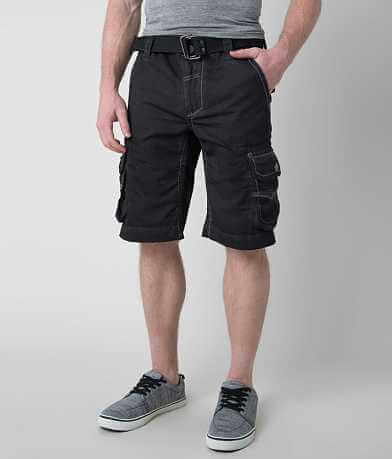 Affliction Black Premium Backfield Cargo Short