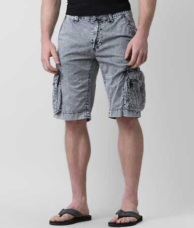 Affliction Black Premium Reflective Cargo Short