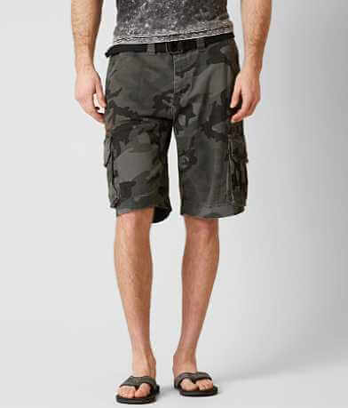 Affliction Black Premium Delta Cargo Short
