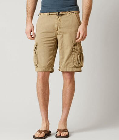 Affliction Black Premium Coastal Cargo Short