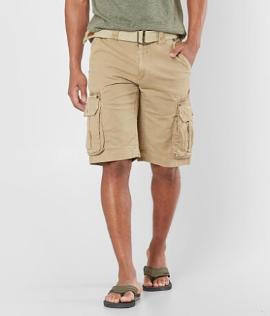 Affliction Black Premium Oak Creek Cargo Short