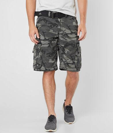 Affliction Black Premium Fortitude Cargo Short