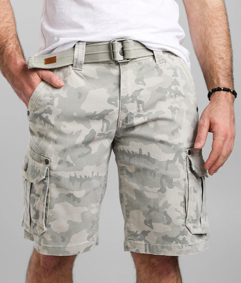 Affliction Territory Cargo Stretch Short front view