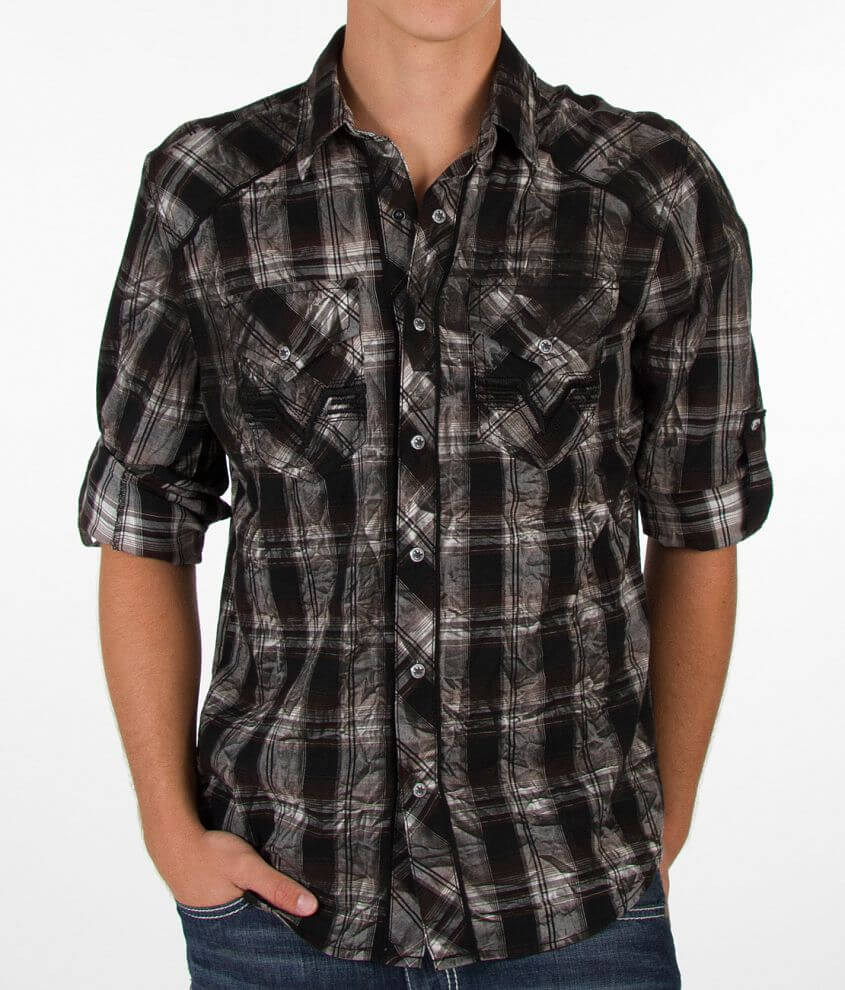 Affliction Abandon Law Shirt front view