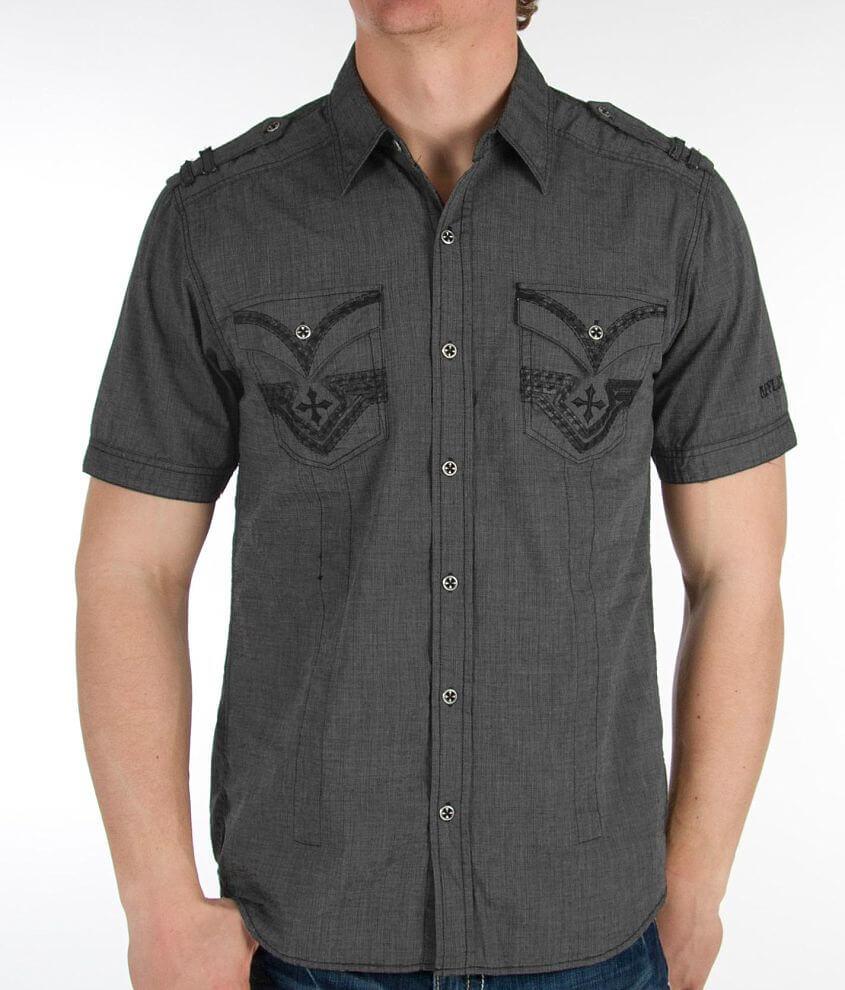 Affliction Black Premium Liaison Shirt front view