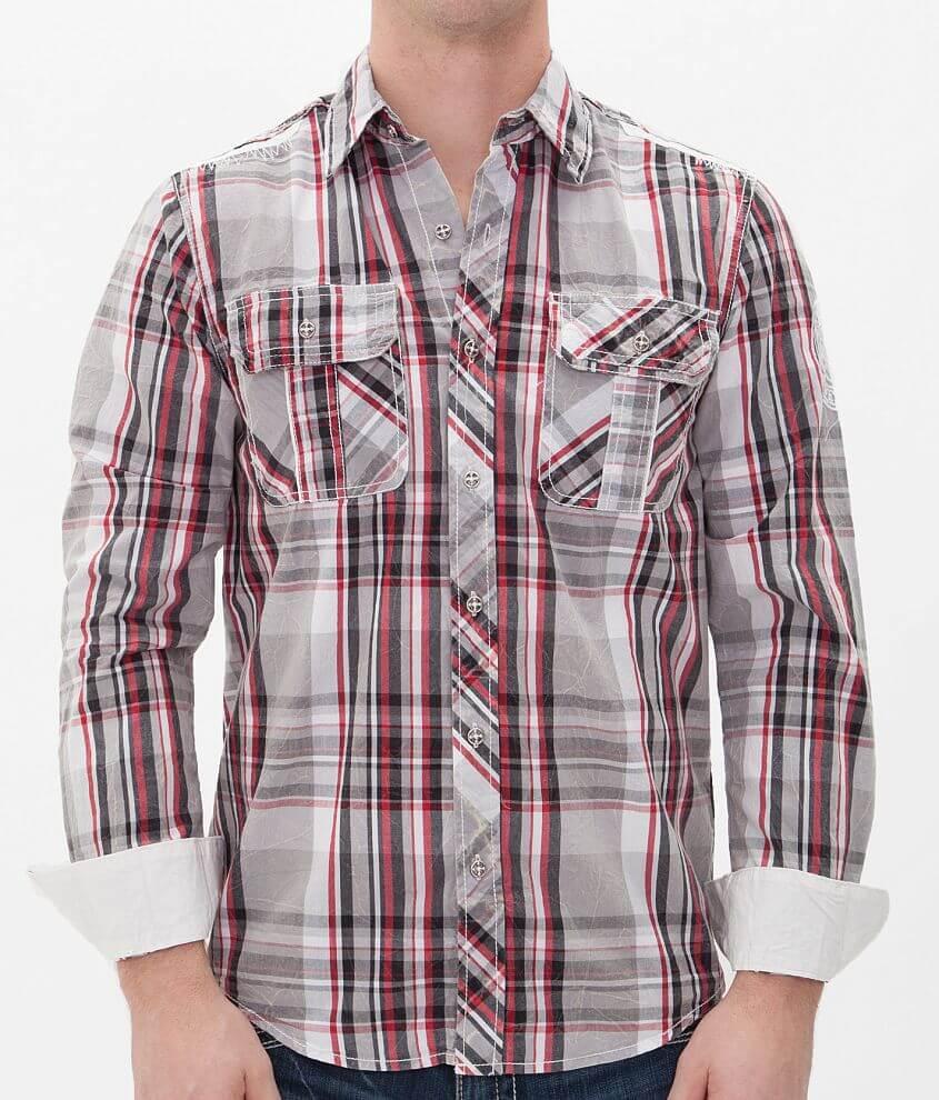 Affliction Black Premium Sentiment Silent Shirt front view
