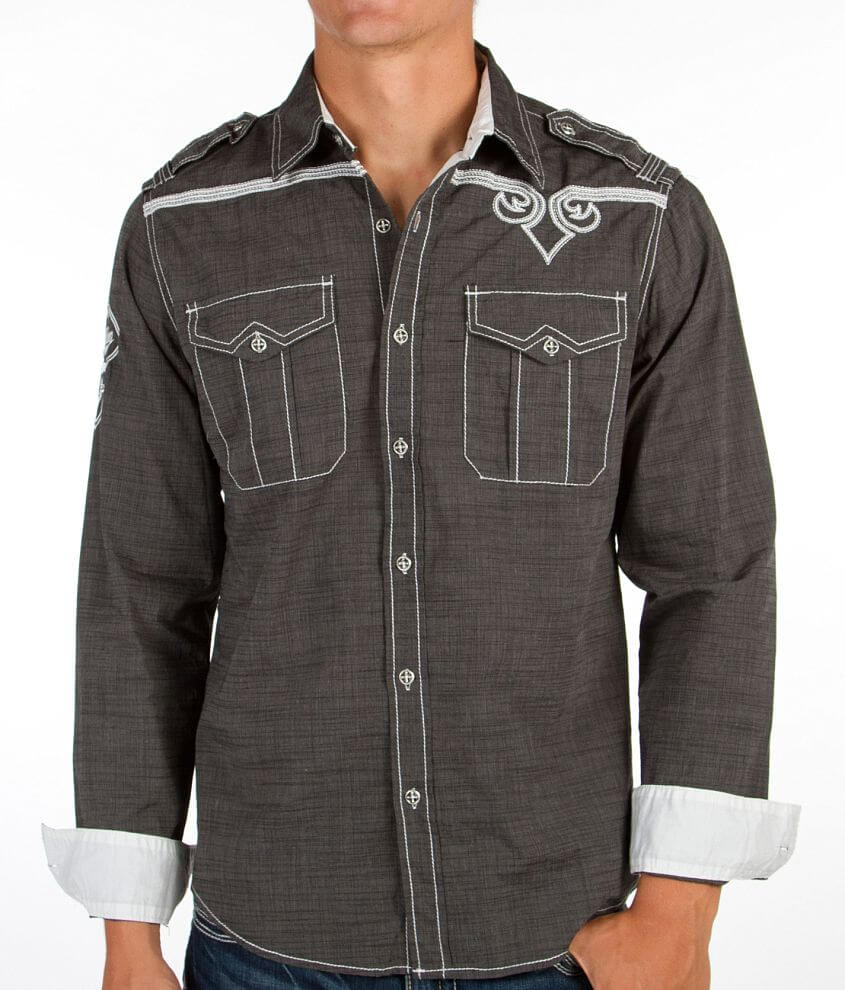 Affliction Powerful Soul Shirt front view