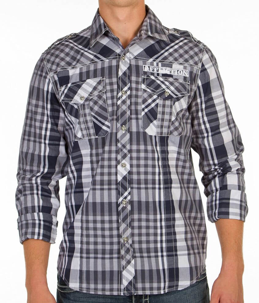 Affliction Black Premium Sweet Nothing Shirt front view