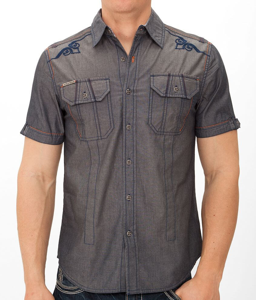 Affliction Black Premium Run This Town Shirt front view