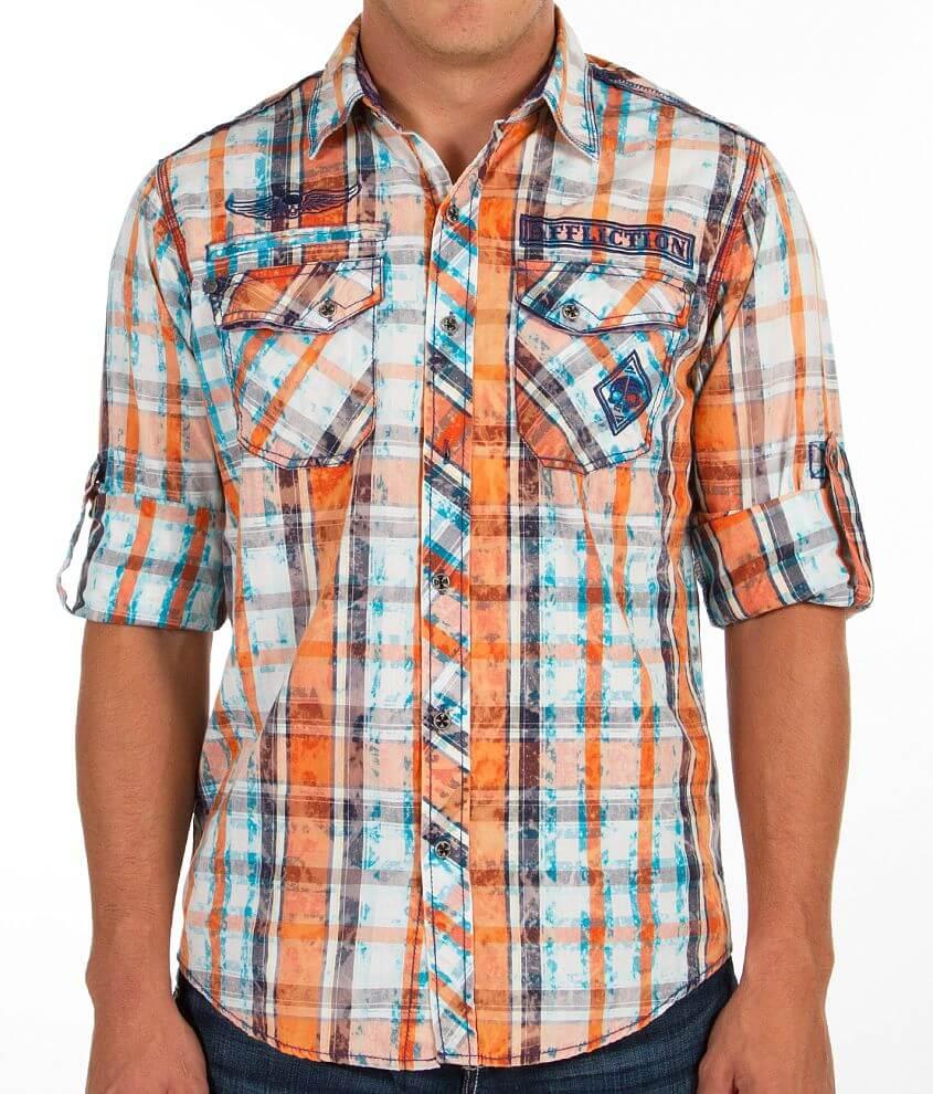 Affliction Black Premium North & Soul Shirt front view