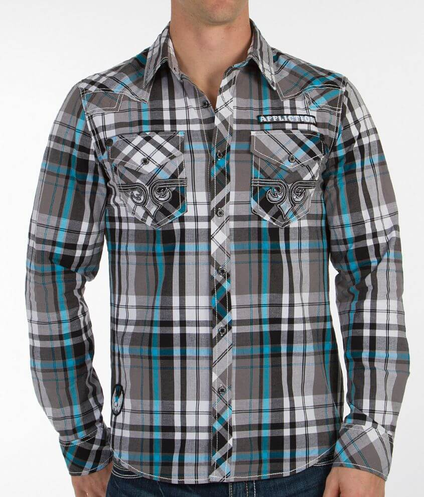 Affliction Final Degree Shirt front view