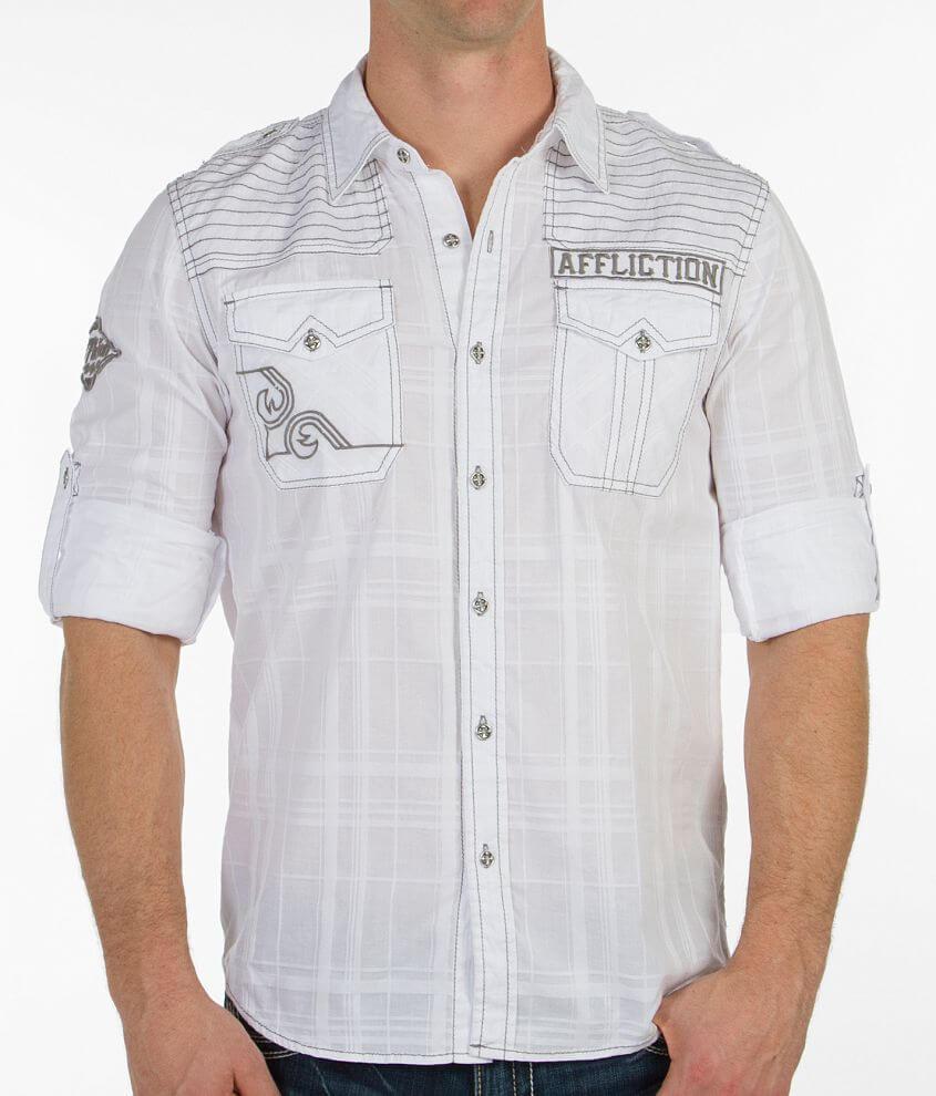 Affliction Dangerous Shirt front view