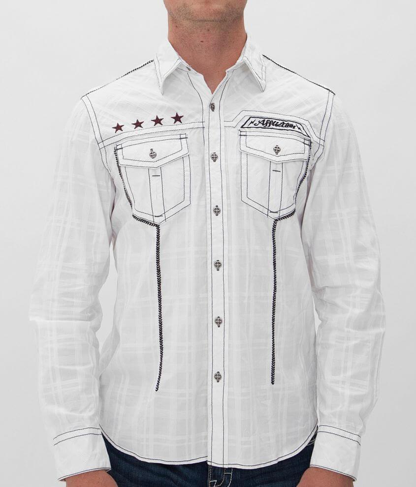 Affliction Black Premium Glory Shirt front view