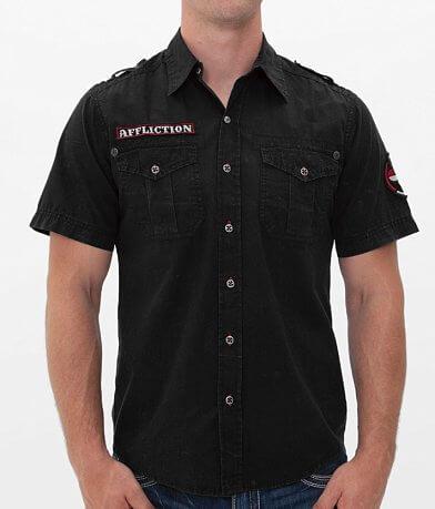 Affliction Black Premium Across Lots Shirt