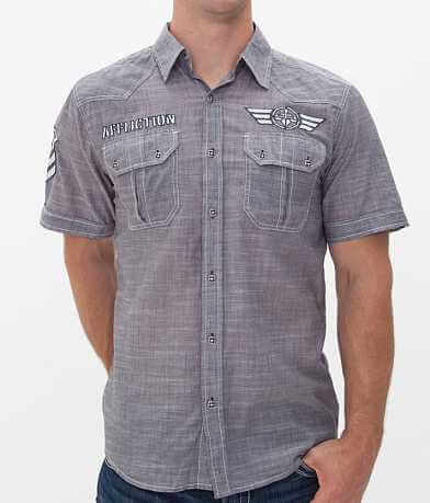 Affliction Black Premium Pretend Up Shirt