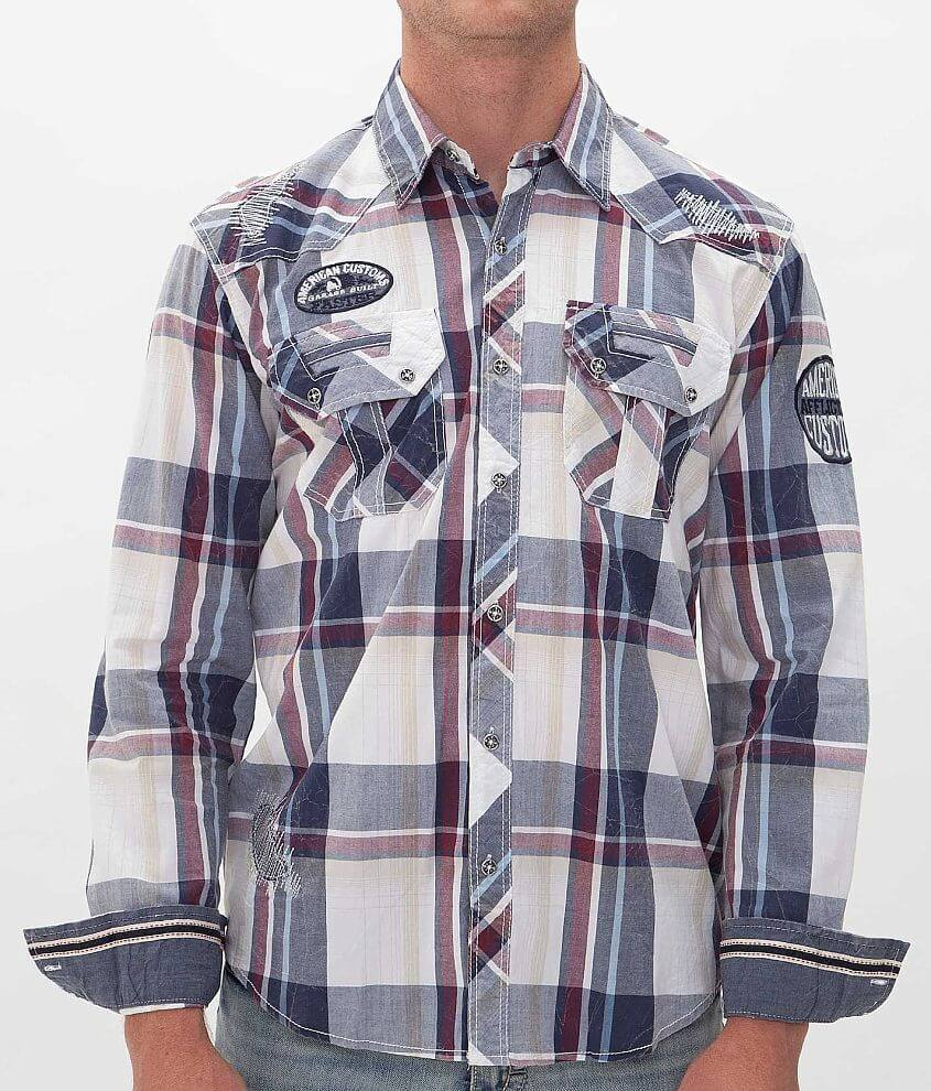 Affliction American Customs Capital Shirt front view
