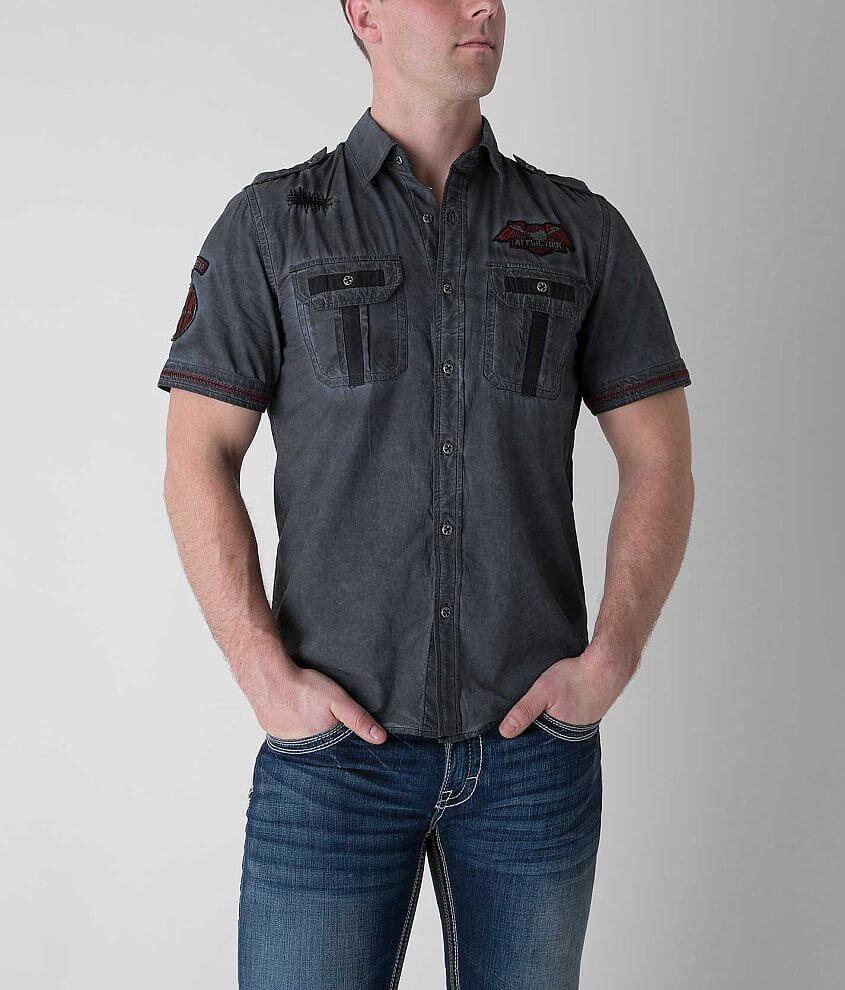 Affliction Black Premium Until The End Shirt front view