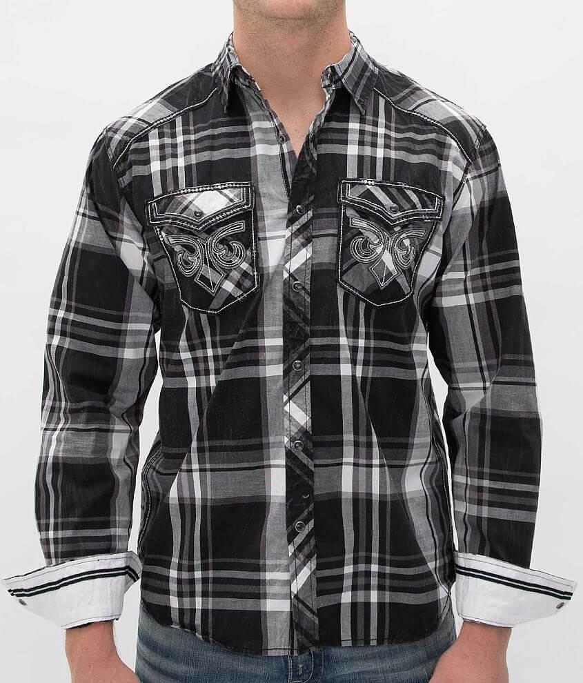 Affliction Black Premium Electric Thunder Shirt front view