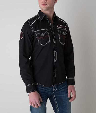 Affliction Black Premium Horsepower Shirt