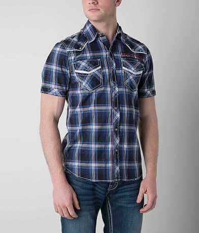 Affliction Black Premium Steel Drive Shirt