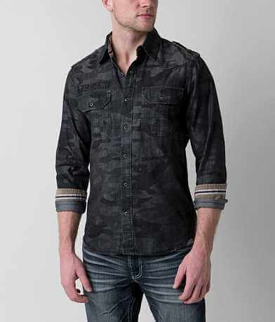 Affliction Black Premium Stone Sinners Shirt