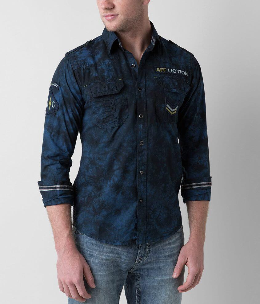 Affliction Black Premium Revelation Shirt front view