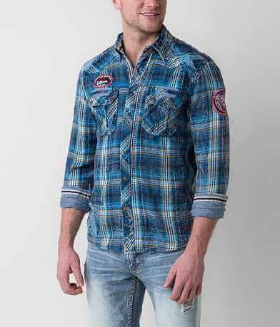 Affliction Black Premium Fire Ball Shirt
