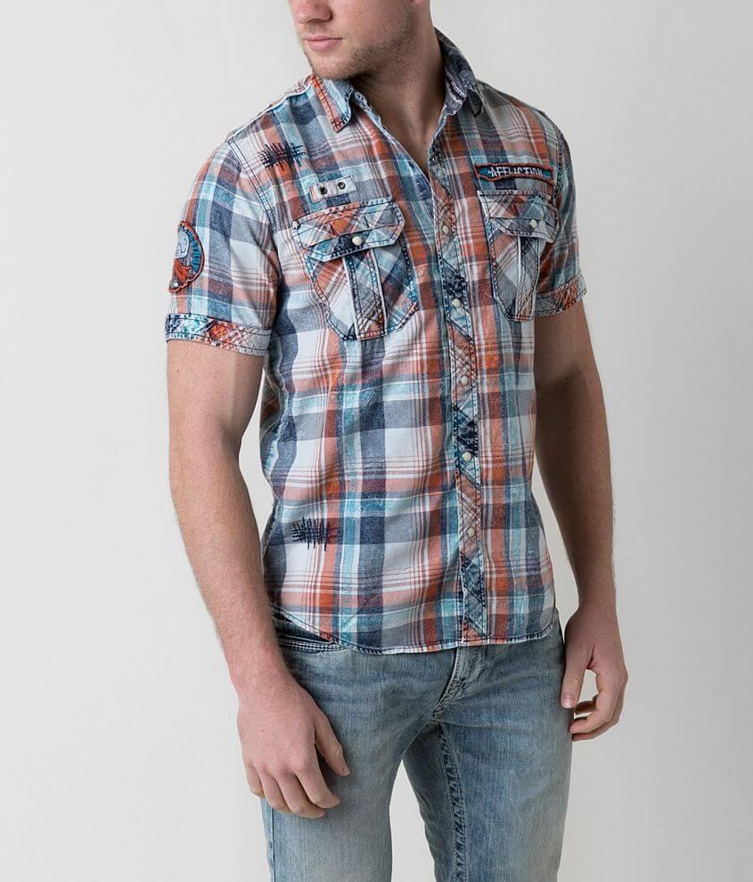 Affliction Black Premium Make Believe Shirt front view