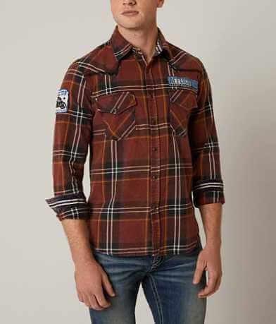 Affliction Black Premium Rebel Rouser Shirt