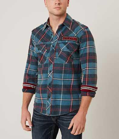 Affliction Black Premium Eastside Shirt