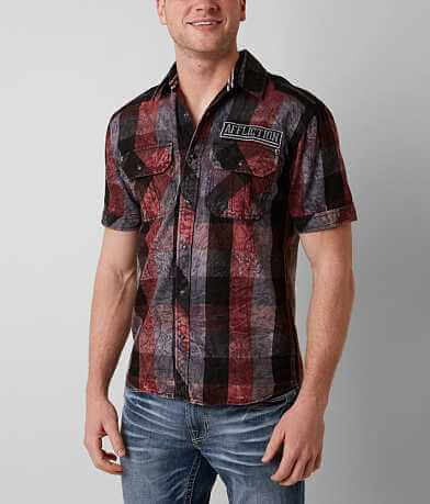 Affliction Black Premium Renegade Runway Shirt