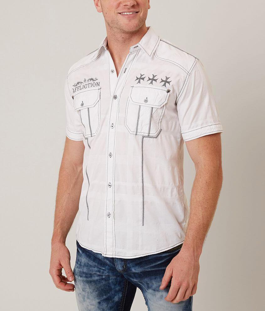 Affliction Black Premium Till Dusk Shirt front view