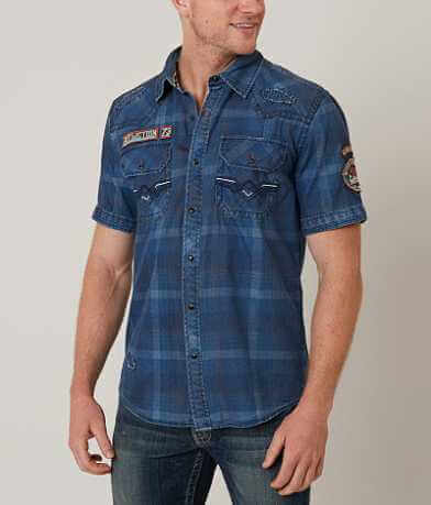 Affliction Black Premium Frankfort Shirt