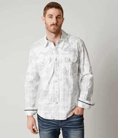 Affliction Black Premium Rusted Diamond Shirt