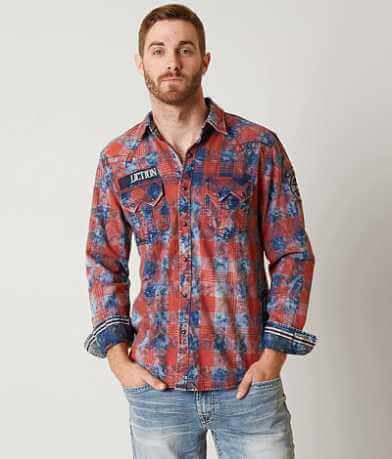 Affliction Black Premium Tough Break Shirt