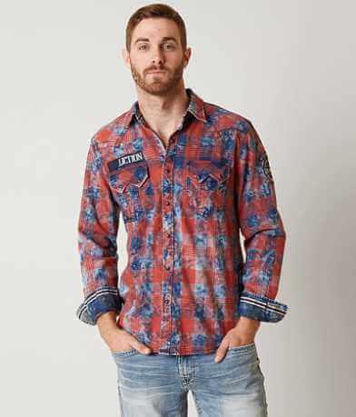 Affliction Black Premium Tough Break Shirt