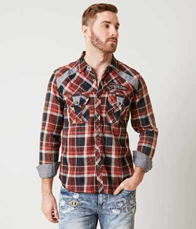 Affliction Alter Play Reversible Shirt