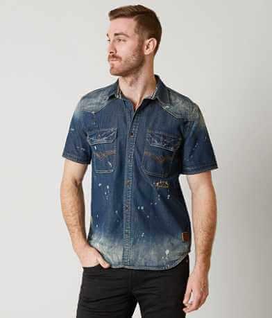 Affliction Black Premium Ocean Floor Shirt